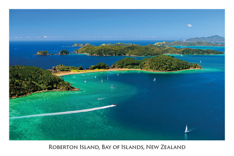 695 - Post Art Postcard - Roberton Island