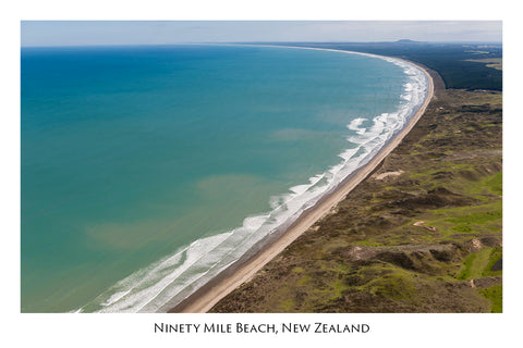 696 - Postcard - Ninety Mile Beach