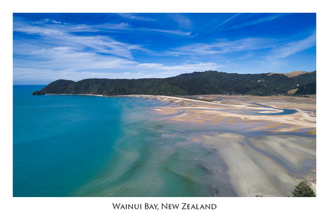 712 - Post Art Postcard - Wainui Bay