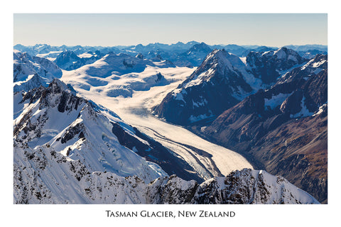 743 - Post Art Postcard - Tasman Glacier
