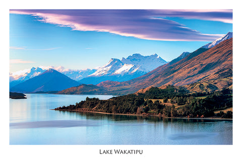 86 - Post Art Postcard - Wakatipu, Queenstown