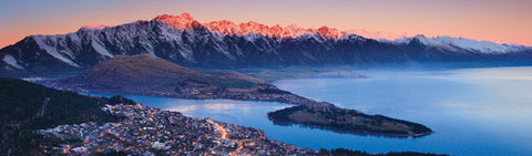 BM1021 - Sisson Bookmark - Queenstown from Skyline