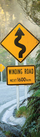 BM1025 - Sisson Bookmark - Road Sign