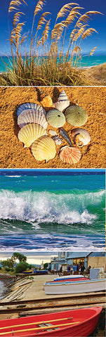 BM101 - Coastal Scenes (BOOKMARK)