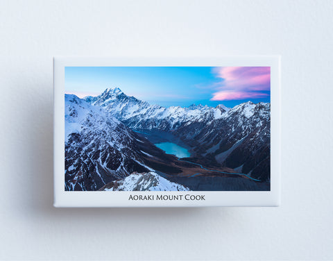 FM0006 - Post Art Magnet - Aoraki Mount Cook