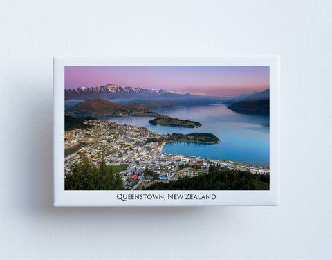 FM0009 - Post Art Magnet - Queenstown