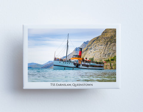 FM0011 - Post Art Magnet - TSS Earnslaw Queenstown