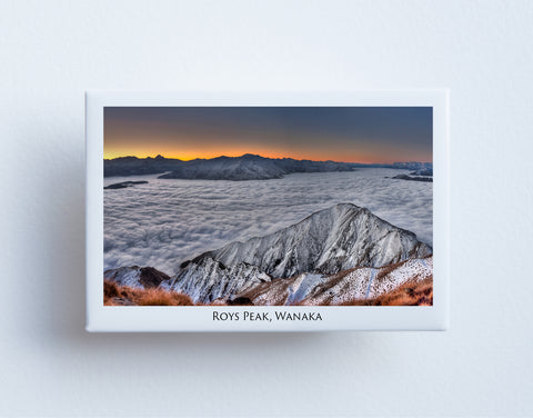 FM0017 - Post Art Magnet - Roys Peak Wanaka