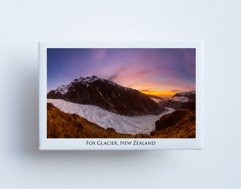 FM0020 - Post Art Magnet - Fox Glacier