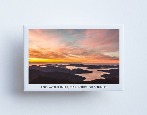 FM0022 - Post Art Magnet - Endeavour Inlet