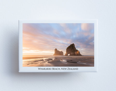 FM0023 - Post Art Magnet - Wharariki Beach