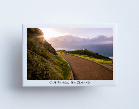 FM0024 - Post Art Magnet - Cape Reinga