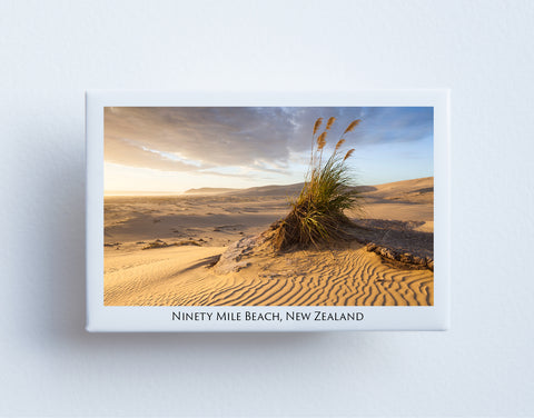 FM0025 - Post Art Magnet - Ninety Mile Beach