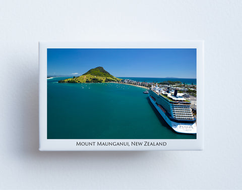 FM0042 - Post Art Magnet - Mount Maunganui Cruise Ship
