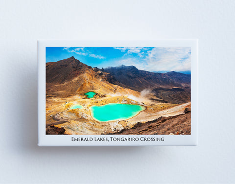 FM0051 - Post Art Magnet - Emerald Lakes
