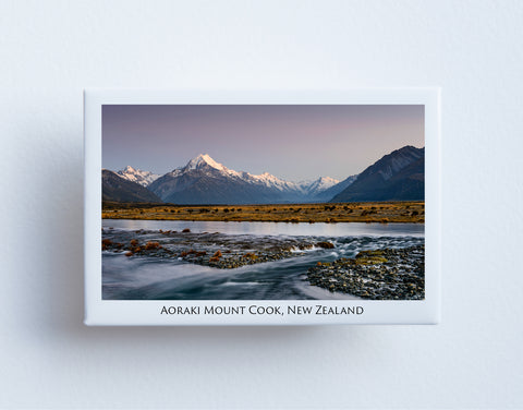 FM0056 - Post Art Magnet - Aoraki Mount Cook