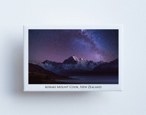 FM0057 - Post Art Magnet - Aoraki Mount Cook