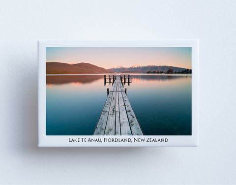 FM0058 - Post Art Magnet - Lake Te Anau