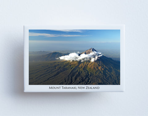 FM0060 - Post Art Magnet - Mount Taranaki