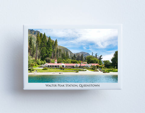 FM0061 - Post Art Magnet - Walter Peak Station