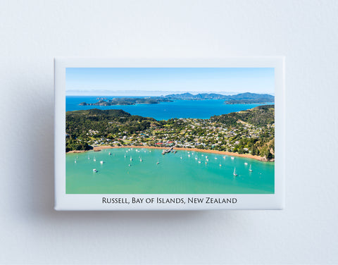 FM0068 - Post Art Magnet - Russell Aerial