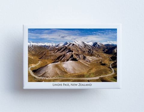 FM0089 - Post Art Magnet - Lindis Pass