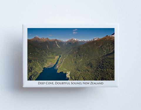 FM0091 - Post Art Magnet - Deep Cove Doubtful Sound
