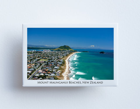 FM0092 - Post Art Magnet - Mount Maunganui Beaches