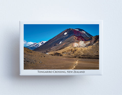 FM0095 - Post Art Magnet - Tongariro Crossing