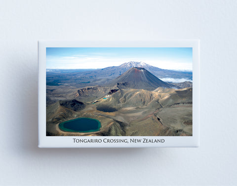 FM0096 - Post Art Magnet - Tongariro Crossing