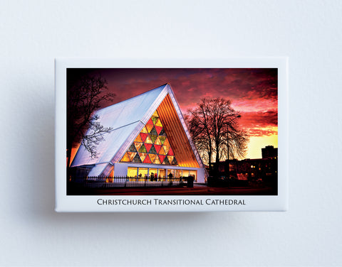 FM0102 - Post Art Magnet - Christchurch Transitional Cathedral