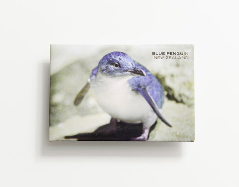 MTS1043 - Sisson Magnet - Blue Penguin on rock