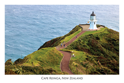 N50 - Post Art Postcard - Cape Reinga Lighthouse