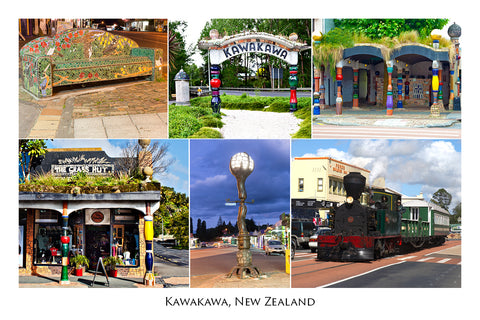 N51 - Post Art Postcard - Kawakawa Toilet