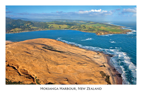 N77 - Post Art Postcard - Heads of the Hokianga Harbour