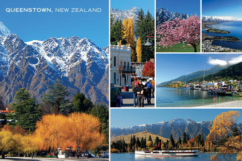 PCL1063 - Sisson Postcard - Queenstown Medley