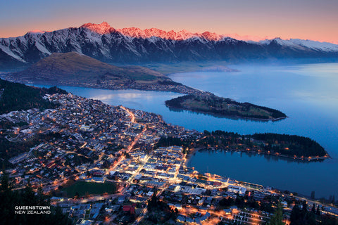 PCL1101 - Sisson Postcard - Remarkables / Skyline