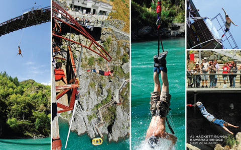 PCL1073 - Sisson Postcard - Bungy (Kawarau Bridge)