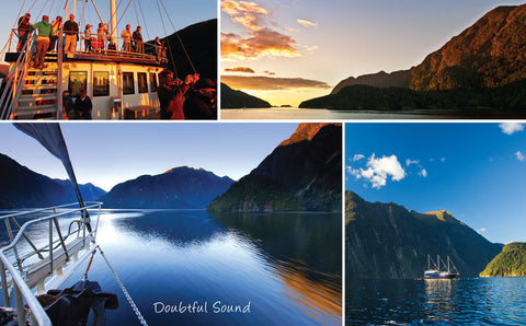 PCL1100 - Sisson Postcard - Doubtful Sound Medley