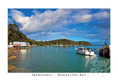 N55 - Post Art Postcard - Mangonui Bay