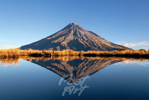 N73 - Post Art Postcard - Mt Taranaki Summer