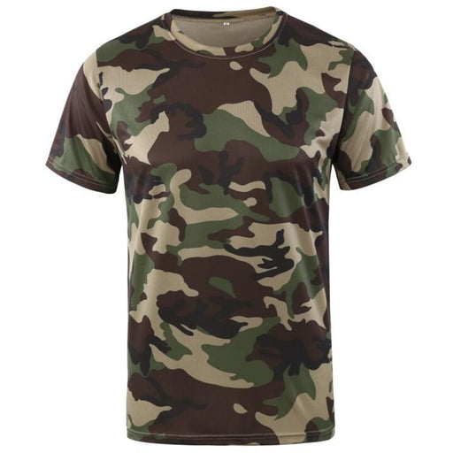 Quick Drying Short Sleeve Combat T-Shirt - IVEgoods