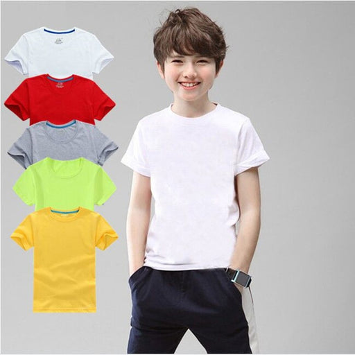 100% Cotton Children Boy T-Shirt - IVEgoods