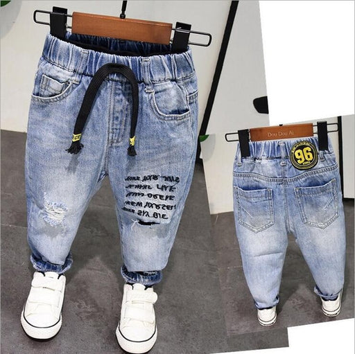 Pure Cotton High Quality Jeans Pants - IVEgoods