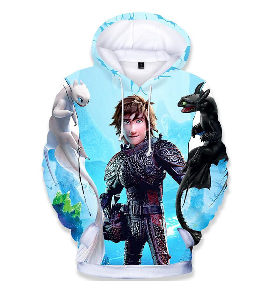 How To Train Your Dragon 3D Print Hoodies - IVEgoods