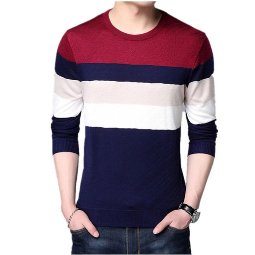 Standard Wool Slim Fit Casual Sweaters - IVEgoods