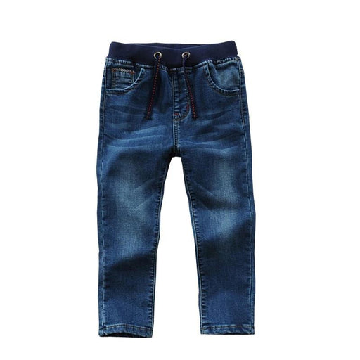 Solid Cotton 100% Denim Boy's Jeans - IVEgoods