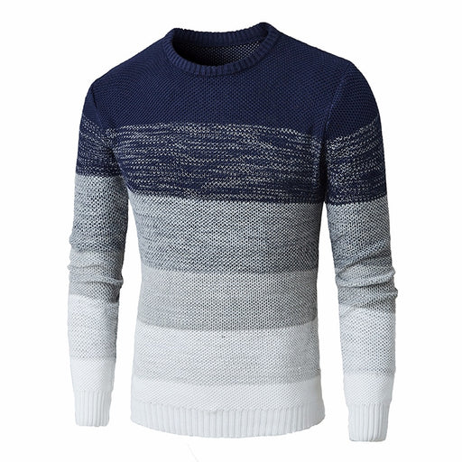 Hombre Striped Knit Casual Sweaters - IVEgoods