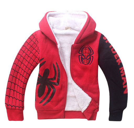 Spiderman Fleece Hoodies - IVEgoods