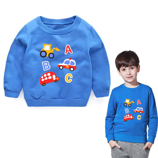 Cartoon Pattern Cotton Sweatshirts - IVEgoods